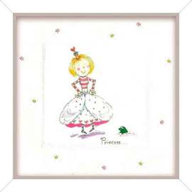 quadro_girl_princess_24x24cm_ 16,9 LEROY
